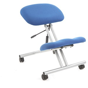 Trexus Kneeling Chair Blue