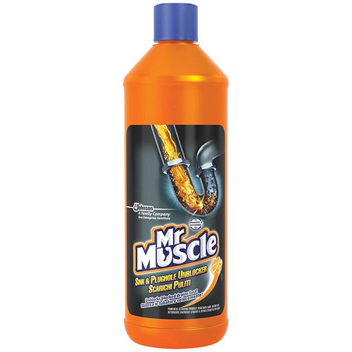 Kitchen Sink Unblocker: Mr Muscle Sink & Plughole Cleaner Professional
